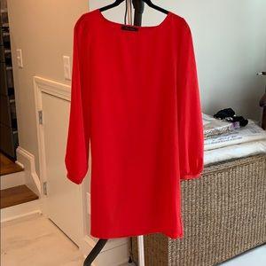 Beautiful vibrant red dress, sz M
